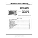 Sharp R-872M (serv.man2) Service Manual