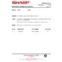 Sharp R-872M (serv.man20) Technical Bulletin