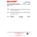 Sharp R-872M (serv.man21) Technical Bulletin