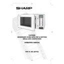 Sharp R-8740 (serv.man20) User Guide / Operation Manual