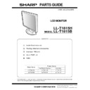 LL-T1815 (serv.man11) Parts Guide