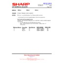 Sharp PN-G655RE (serv.man15) Technical Bulletin