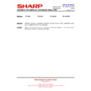 Sharp PN-G655RE (serv.man16) Technical Bulletin