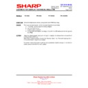 Sharp PN-G655RE (serv.man17) Technical Bulletin