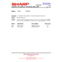 Sharp PN-G655RE (serv.man18) Technical Bulletin