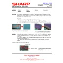 Sharp PN-S525 (serv.man16) Technical Bulletin