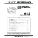 Sharp AL-1217 (serv.man17) Service Manual