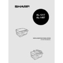 Sharp AL-1217 (serv.man31) User Guide / Operation Manual