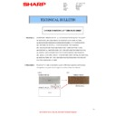 Sharp AL-1217 (serv.man35) Technical Bulletin
