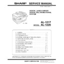 Sharp AL-1217 (serv.man4) Service Manual