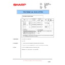 Sharp AL-1217 (serv.man41) Technical Bulletin