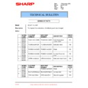 Sharp AL-1217 (serv.man50) Technical Bulletin