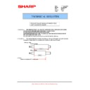 Sharp AL-1217D (serv.man12) Technical Bulletin