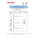 Sharp AL-1217D (serv.man13) Technical Bulletin