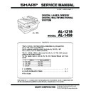 Sharp AL-1217D (serv.man4) Service Manual