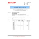 Sharp AL-1217D (serv.man7) Parts Guide