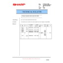 Sharp AL-1553 (serv.man16) Technical Bulletin