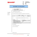 Sharp AL-1553 (serv.man18) Technical Bulletin