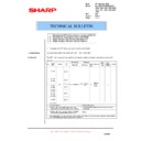 Sharp AL-1553 (serv.man20) Technical Bulletin