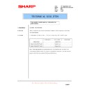 Sharp AL-1553 (serv.man21) Technical Bulletin