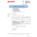 Sharp AL-1553 (serv.man23) Technical Bulletin