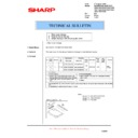 Sharp AL-1553 (serv.man24) Technical Bulletin