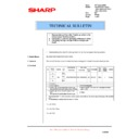 Sharp AL-1553 (serv.man27) Technical Bulletin
