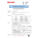 Sharp AL-840 (serv.man36) Technical Bulletin