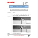 Sharp AL-840 (serv.man37) Technical Bulletin