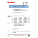 Sharp AL-840 (serv.man38) Technical Bulletin