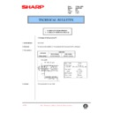 Sharp AL-840 (serv.man39) Technical Bulletin