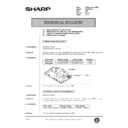 al-840 (serv.man41) technical bulletin
