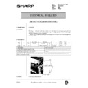 Sharp AL-840 (serv.man43) Technical Bulletin