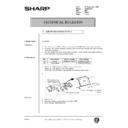 Sharp AL-840 (serv.man45) Technical Bulletin