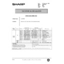 Sharp AL-840 (serv.man46) Technical Bulletin