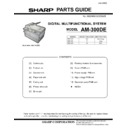 Sharp AM-300 (serv.man10) Parts Guide