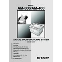 Sharp AM-300 (serv.man11) User Guide / Operation Manual