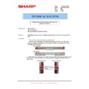 Sharp AR-150 (serv.man26) Technical Bulletin