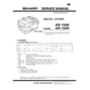 Sharp AR-150 (serv.man3) Service Manual
