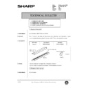 Sharp AR-150 (serv.man78) Technical Bulletin