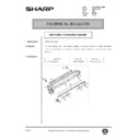 Sharp AR-161 (serv.man152) Technical Bulletin