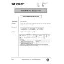 Sharp AR-161 (serv.man154) Technical Bulletin