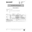Sharp AR-161 (serv.man164) Technical Bulletin