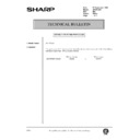 Sharp AR-161 (serv.man171) Technical Bulletin