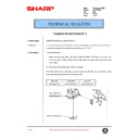 Sharp AR-200 (serv.man103) Technical Bulletin