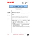 Sharp AR-200 (serv.man104) Technical Bulletin