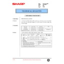 Sharp AR-200 (serv.man105) Technical Bulletin
