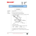 Sharp AR-200 (serv.man109) Technical Bulletin