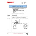 Sharp AR-200 (serv.man114) Technical Bulletin