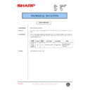 Sharp AR-200 (serv.man117) Technical Bulletin